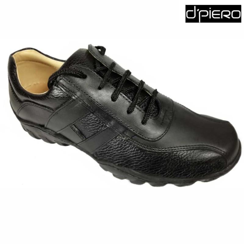Zapato Negro D  Sport Casual Piero Para Buencalzar Hombre rB1qr4aw 8bfec97055b0