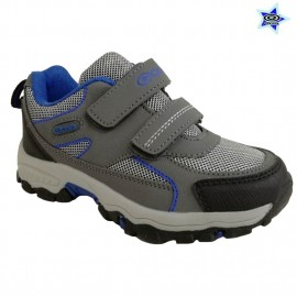 ZAPATILLA GOLF NIÑO CON DOBLE VELCRO