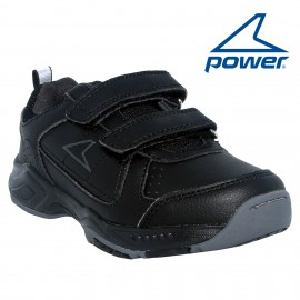ZAPATILLA POWER CARVE NEGRA INFANTIL