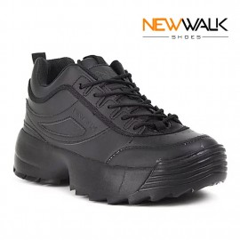 ZAPATILLA NEW WALK NEGRO ESTILO URBANO