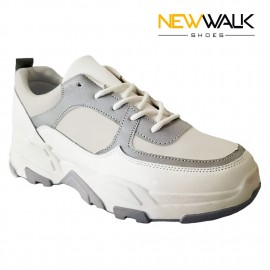 ZAPATILLA URBANA NEW WALK BLANCO/GRIS