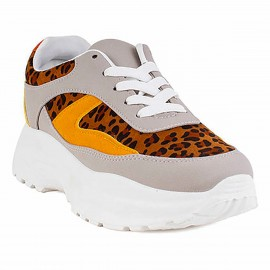 ZAPATILLA NEW WALK  LEOPARDO