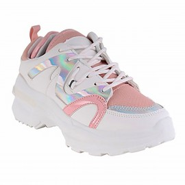 ZAPATILLA NEW WALK  HOLO PINK