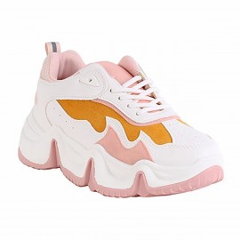 ZAPATILLA NEW WALK CURVE PINK