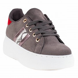 ZAPATILLA NEW WALK REPTIL GRIS