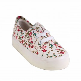 ZAPATILLA NAT GEO KIDS FLORES