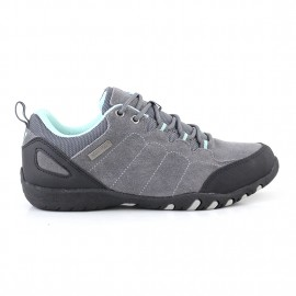 ZAPATILLA NORWEST TREKKING CREW TREK GRAY TURQUASE